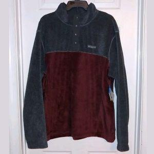 Columbia Mens Quarter Snap Fleece Pullover Size XL
